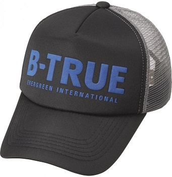 B-TRUE Basic Mesh Cap